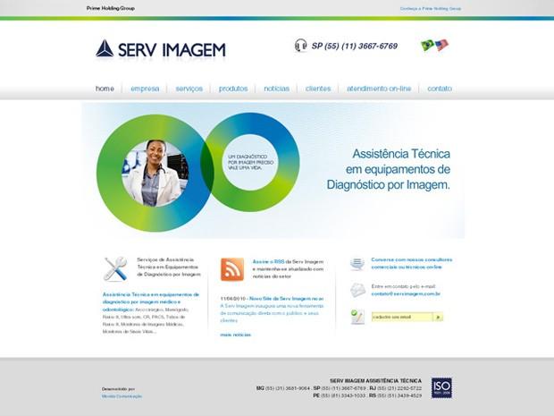 Serv Imagem - Website