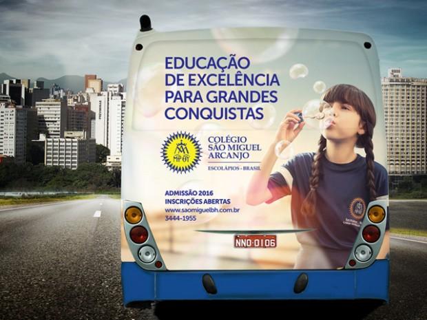 Busdoor 1 - Colégio São Miguel Arcanjo