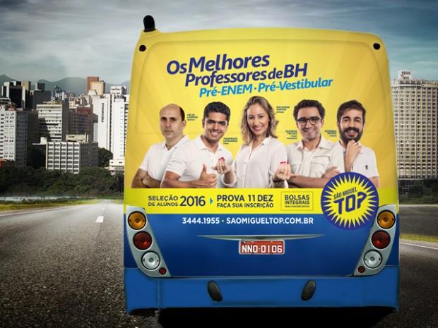 Busdoor 1 - Pré-vestibular São Miguel TOP