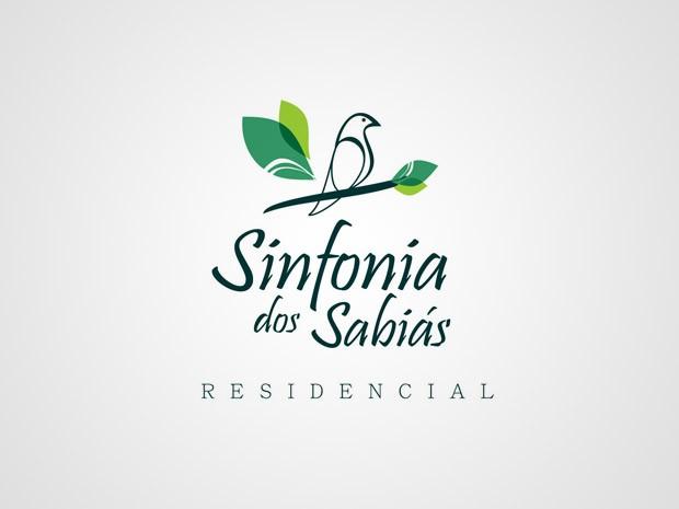 Criação da Logomarca do Empreendimento Sinfonia dos Sabiás