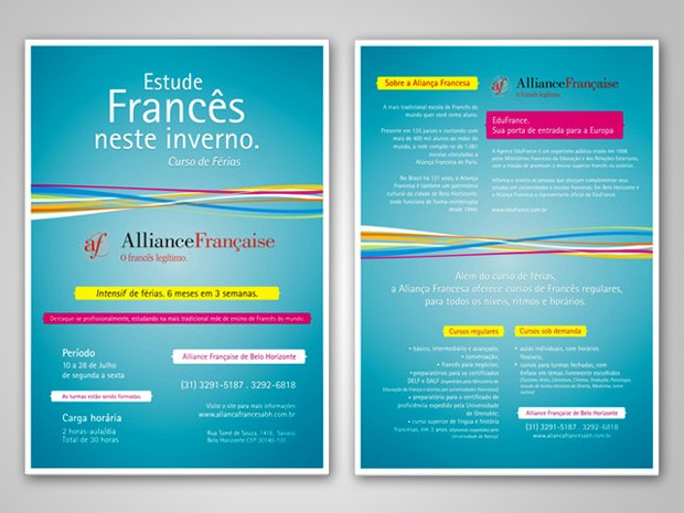 Aliança Francesa - Encarte Jornal
