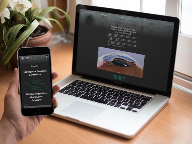 Criação do Website para o IOCT
