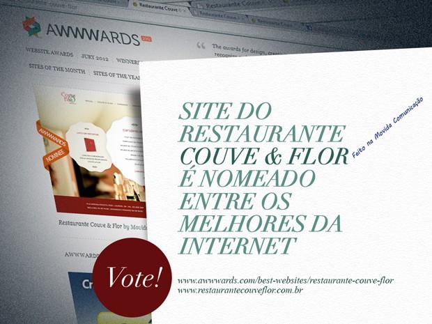 Web Site Restaurante Couve e Flor