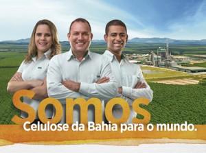 Campanha Veracel 25 Anos. Celulose da Bahia para o Mundo