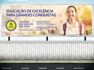 Campanha Publicidade Matrícula Colégio São Miguel Arcanjo - Belo Horizonte