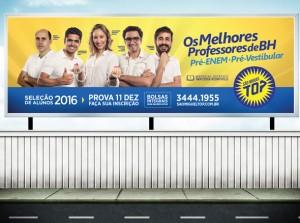 Campanha Publicidade Matrícula Pré-vestibular São Miguel Top - Belo Horizonte