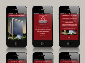 Dominus Promenade - Criação de hot site e mobile site para Iphone