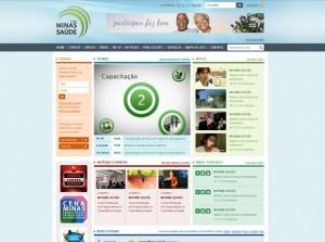 Criação do Portal do Canal Minas Saúde