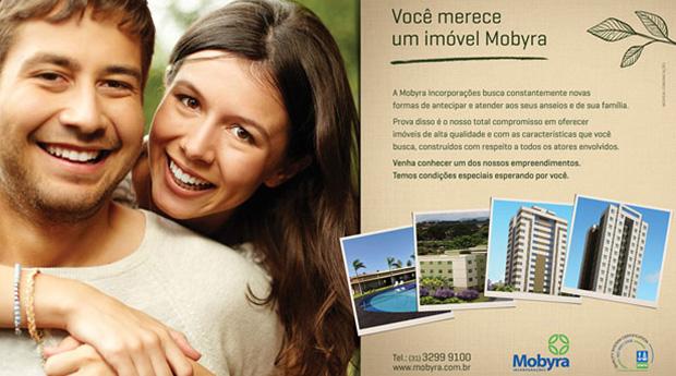 Criação de publicidade para Mobyra Incorporações